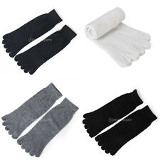 Footful Men Womens Cotton Five Finger 5 Toes Sports Yoga Casual Socks Breathable