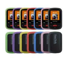 for Sandisk Sansa Clip Sport (SDMX24) Soft Rubber Gel Bumper Skin Cover Case
