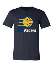 Indiana Pacers Distressed logo shirt