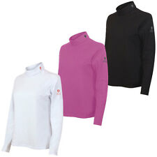 33% OFF RRP Island Green 2016 Womens Ladies Roll Neck Golf Top
