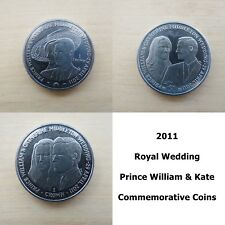 2011 Prince William & Kate Wedding Coins - Royal Wedding Commemorative Coins