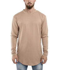 Phoenix Oversized Long-sleeved T-shirt Desert Beige Cream Longshirt