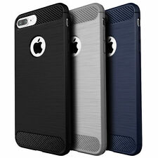 Protective Rugged Matte TPU Protective Case Cover for Apple iPhone 6 7/7 Plus