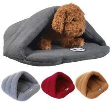 Cozy Puppy Pet Cat Dog Nest Bed Puppy Soft Warm Cave House Sleeping Bag Pad !