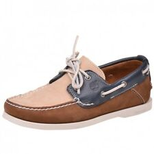 Timberland EK Heritage 2 Eye Boat brown blue Boat Shoes Yachting Shoes 6502R