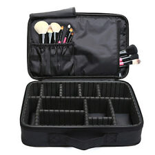 NEW Large Space Storage Beauty Makeup Nail Tech Cosmetic Box Vanity Case Bag