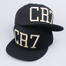 MEN Mens CR7 Baseball Cap Brim Snapback Hat Hip-Hop Adjustable Bboy Cap Unisex