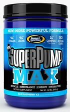 Gaspari Nutrition -  SuperPump MAX! (blue raspberry ice)  640g
