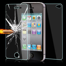 100% GENUINE FRONT & BACK TEMPERED GLASS FILM SCREEN PROTECTOR For iphone