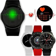 8GB Bluetooth WiFi SIM GPS Heart Rate Monitor Smart Watch For iOS/Android Phone