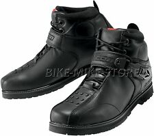 ICON BOAT SUPERDUTY 4 Motorcycle boots Leather black Size 40 - 48,5
