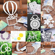 Leaf Flower Album DIY Cutter Cutting Dies Stencil Scrapbooking Paper Embossing