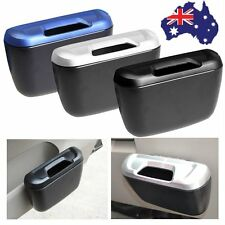 Vehicle Car Auto Trash Rubbish Can Dust Garbage Bin Storage Box Container MG