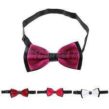 Classic Mens Women Pre Tied Wedding Party Fancy Dress Necktie Bow Ties
