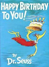 Happy Birthday to You! by Dr. Seuss (1959, Hardcover)
