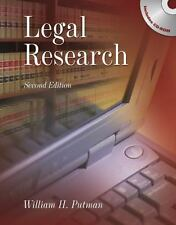 Legal Research by William H. Putman, 2nd Edition