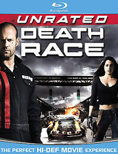 Death Race  Blu-ray Jason Statham,  Brand New