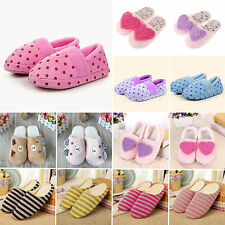 Womens Anti-slip Slippers Sandal Winter Warm Home Men Casual Indoor Soft Shoes