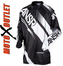 Black 2017 Dirt Bike Answer Racing Gear Syncron Pants Jersey MX Off Road Atv