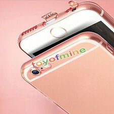 Ultra Thin Shock/dustproof Crystal Clear Soft TPU Case For iPhone 6 6s 7 Plus