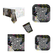 New Year Countdown To New Year Party Plates Napkins Cups Tableware Listing