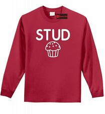 Stud Muffin Funny Long Sleeve T Shirt Cute Boyfriend Gift College Tee Shirt Z1