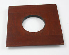 LENS BOARD, FOUR INCHES SQUARE, 3-9/16 INCH INNER STEP, 47MM HOLE/182117