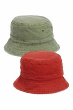 Next Two Pack Rust/Khaki Fisherman's Hats For Boy`s Size 1-2yrs