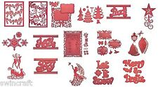 Spellbinders Die Cutting Emb Stencils 2015 Collectio #2 SALE CLEARANCE