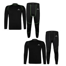 Thermal Cycling / Running Underwear Set Outdoor Sport Long Johns Tops And Pants