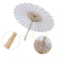 Paper Umbrella Bamboo Polyester Parasol Stage Scene Home Decor Handmade Tool TP