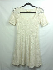 Urban Outfitters Pins And Needles Ivory Lace Dress Size Medium