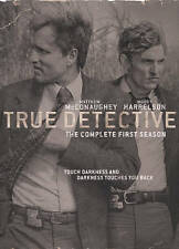 True Detective: The Complete 1st First Season One 1 (DVD, 2015, 3-Disc Set)  NEW