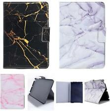 Smart Marble Veined Stone Artificial Flip Leather Case Cover Stand For iPad Tab