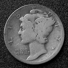 19?? Liberty (Mercury) Dime - NO DATE - Missing Design Element - Very Rare