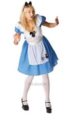 Ladies Sexy Alice In Wonderland Adult Fairytale Fancy Dress Costume Party Outfit