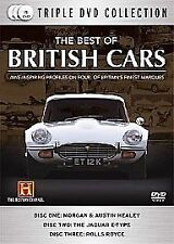 The Best of British Cars  DVD - 3 DVD Box Set