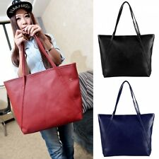 Vintage Style New Fashion Women Synthetic Leather Shoulder Bag Casual Handbag
