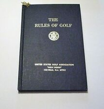 THE RULES OF GOLF, UNITED STATES GOLF ASSOCIATION, 1976