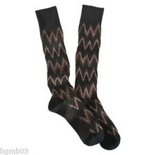 MISSONI FOR TARGET WOMENS KNEE HIGH SOCKS BROWN, PURPLE - NEW