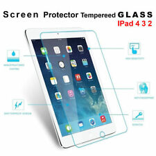 New 3x 2x 1x Scratch Resist Tempered Glass Screen Protector For Apple iPad 4 3 2