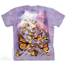 The Mountain Monarch Butterflies Insects Pretty Animals Adult T Tee Shirt 104863