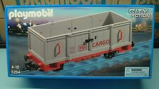 Playmobil Open Freight Wagon 5264 Train Scale G mint in Box toy GEOBRA