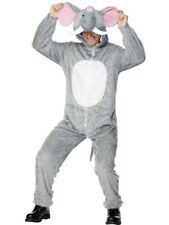 Adult Funny Animal Cute Elephant Jumpsuit Mens Fancy Dress Costume Party Outfit