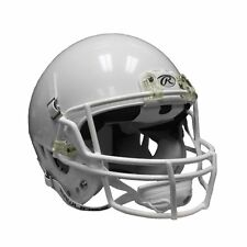 New Rawlings Youth Momentum Football White Helmet With White Facemask