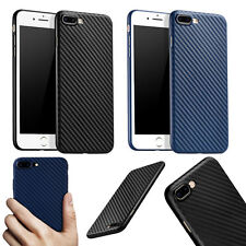 Shockproof Ultra-thin Carbon Fiber Back Case Cover For Apple iPhone 7/8 Plus 5.5