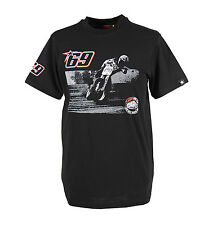 New Official Nicky Hayden 69 Black Earls Racing Team T-Shirt 14 34001