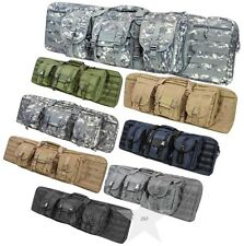 "Tactical 36"" / 42""  Padded Double Carbine Rifle Gun Case Bag VISM NcSTAR"