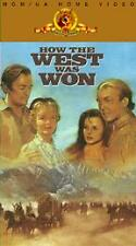 How the West Was Won (VHS, 2-Tape Set)