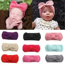 Multi Color Baby Girl Crochet Knitted Headband Hair Band Headwrap Hairband